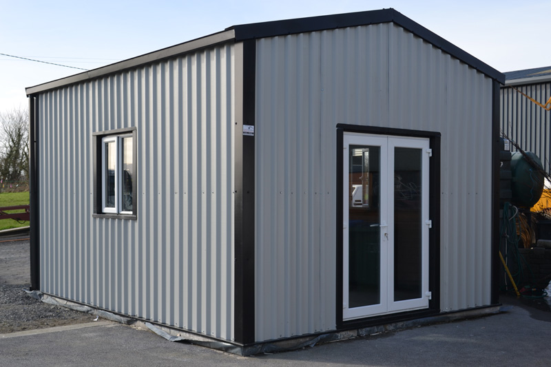 Garden sheds for sale larach buildings ireland for Garden sheds and garages