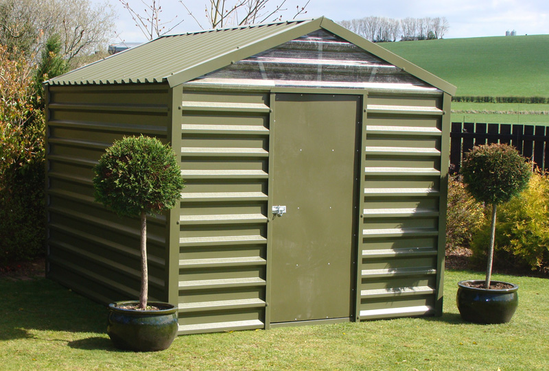 Garden Sheds Metal garden sheds for sale - larach buildings, ireland