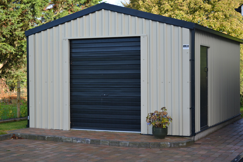 Steel Garages And Sheds For Sale: Larach Buildings, Ireland