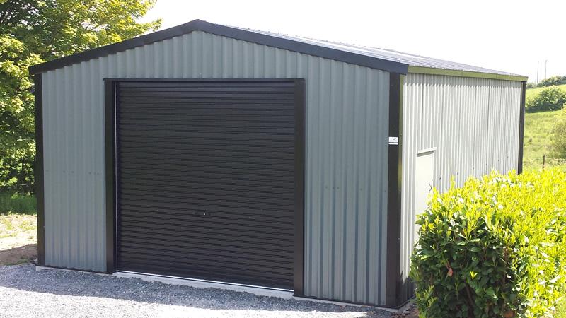 Steel garages for sale larach buildings ireland - Garage metal castorama ...